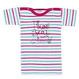 Absorba 6J64003-Camiseta de Tirantes Bebé-Niñas Rosa (Framboise 036) 4 años