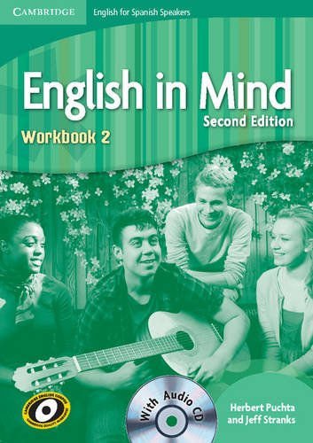 English in Mind for Spanish Speakers 2 Workbook with Audio CD