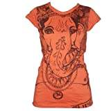 Ganesh Sure–Camiseta naranja L