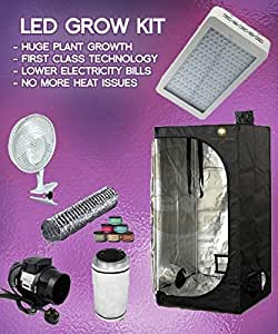 600w LED Grow Tent Kit LED Grow Tent Package & 600w LED Grow Tent Kit LED Grow Tent Package: Amazon.co.uk ...