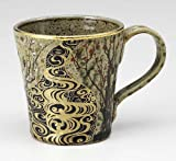 KUTANI YAKI(ware) Coffee Mug Gold Plum