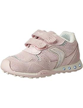 Geox Jr New Jocker a, Zapatillas Para Niñas