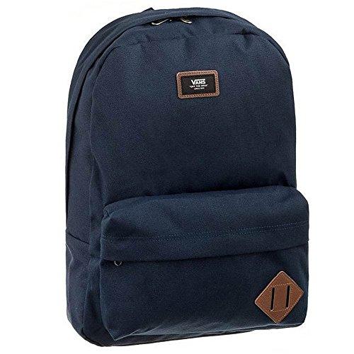 Vans Old Skool II Backpack, Mochila Casual, 48 cm, 23 L, Unisex, Azul (Navy)