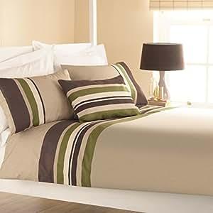 curtina bettw sche set harvard f r einzelbett gr n k che haushalt. Black Bedroom Furniture Sets. Home Design Ideas