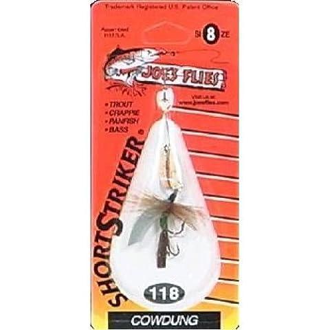 Joe's Flies Short Striker 1/8 Ounce - Perfect For Trout Fishing/Crappie/Smallmou