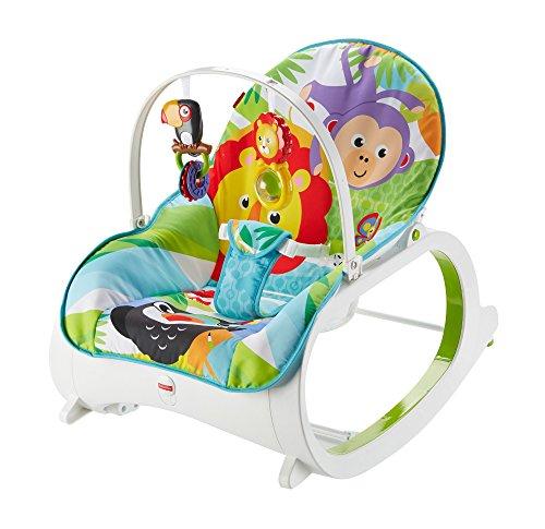 hamaca beb/é reci/én nacido Mattel FMN40 Fisher-Price Hamaca crece conmigo selva