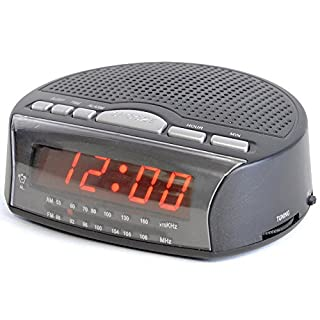 Lloytron J2006BK Daybreak Alarm Clock Radio