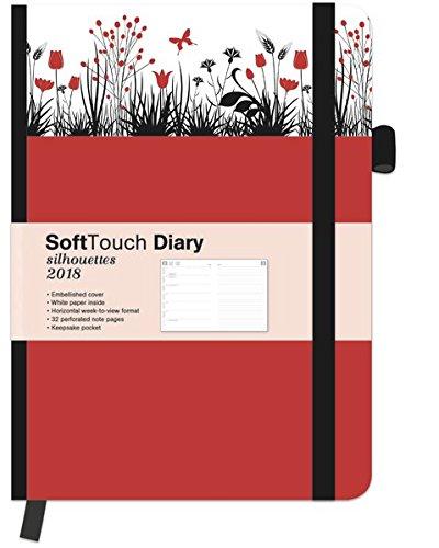 SoftTouch Silhouettes Daisy 2018 - Wochenplanner 2018, Buchkalender, Taschenkalender  -  16 x 22 cm -