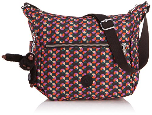 Kipling ALENYA K10623C47, Borsa a tracolla Donna, Multicolore (Mehrfarbig (Party Dot Pr P)), 32x32x15 cm (L x A x P) - Gm Corpo