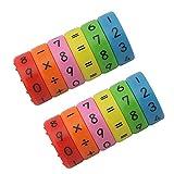 Juguete de Aprendizaje Aritmético Magnético, Regalo Educativo de los...