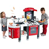 Children's Tefal Smoby Super Kitchen Play Set Imaginative Play 47 Accessories