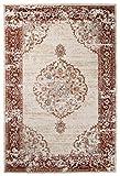 Carpeto Orientalisch Teppich Vintage 60 x 100 cm Beige