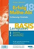 Erfolg im Mathe-Abi 2018 Lernpaket 'Basis' Schleswig-Holstein: mit der Original Mathe-Mind-Map - Helmut Gruber