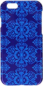 MYBAT Phone Protector Cover for iPhone 6 - Retail Packaging - Blue Damask