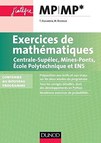 Exercices de mathématiques MP-MP* Centr...