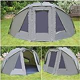 Quest Compact MK4 Tente de Bivouac de pêche à la carpe colonne d'eau 6000 mm Bivvy Bivy - Tente de camping - 1-2 man personne places