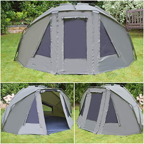 Quest Tackle Angelzelt 1-2 Man Mann Bivvy Karpfenzelt Karpfen Angeln Angehen Campingzelt Fishing Tent 10000mm Wassersäule
