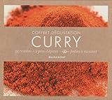 Curry - Coffret dégustation 32 recettes + 2 pots d'épices prêtes à cuisiner