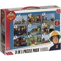 Jumbo Games Fireman Sam 9-in-1 Jigsaw Puzzle Bumper Pack