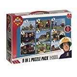 Jumbo 17338 - Fireman Sam 9-in-1 Pu...