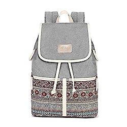MojiDecor Backpack Rucksack, 37 cm, Grau (Grey)
