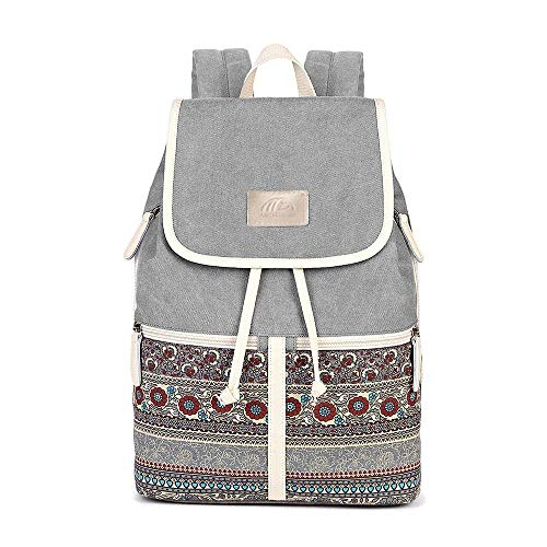 MojiDecor Backpack Zaino Casual, 37 cm, Grigio (Grey)