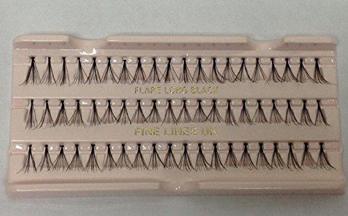 60 x Individual False/Fake Flare Cluster Lashes Eyelashes Extensions (Medium (617-02))