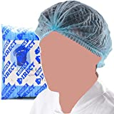 Simply Direct blue clip caps x 100. Mop / mob caps for catering, beauty, industrial and nursing applications supplied as 1 pack of 100 in a clipped format.