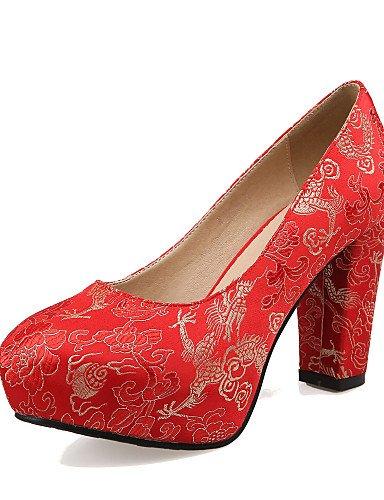 WSS 2016 Chaussures de mariage-Rouge-Mariage / Soirée & Evénement-Talons / A Plateau-Talons-Homme red-us10.5 / eu42 / uk8.5 / cn43