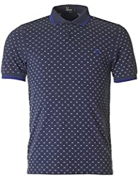 FRED PERRY - Polo para Hombre Slim Fit TWIN TIPPED PRINT SHIRT