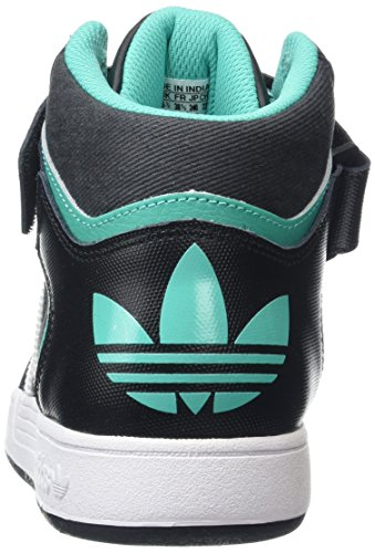 adidas Unisex-Erwachsene Varial Mid Skaterschuhe Schwarz (Core Black/Ftwr White/Shock Mint)