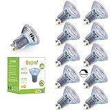 Bojim Ampoules LED GU10 Dimmable, 8.5W Équivaut à 80W Ampoule Halogène, Spot LED 575 Lumens 4000K Lumière Blanc Naturel, 90Ra