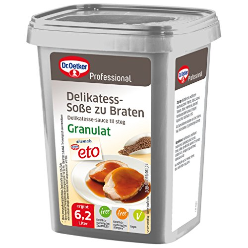 Dr. Oetker Professional Delikatess-Soße zu Braten, Granulat in 720 g Dose