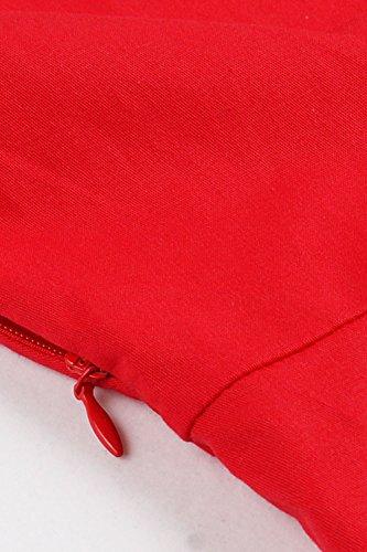 Babyonline Rockabilly 50er Polka Dots Punkte 1950er Kleid Petticoat Faltenrock L -