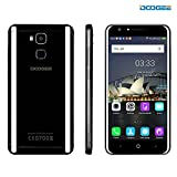 DOOGEE Y6 Piano Black Smartphone, Android 6.0 Dual Sim Cellphone - 4G Mobile Phone with 5.5