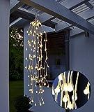 LED Lichterzweige hängend 70 cm mit 144 warmweißen LEDs