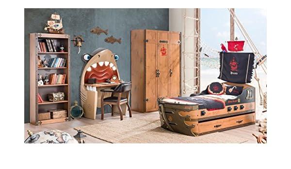 Letto A Forma Di Nave Pirata : Camere da letto per bambini di caroti ideare casa