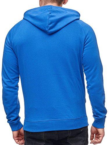 INDICODE Herren Santos Sweatshirt Langarmshirt Pullover Delft