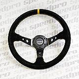 Volante Sportivo Speedpro RACING SPECIALE ECO PELLE NERA...