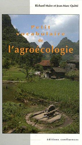PETIT VOCABULAIRE DE L'AGROECOLOGIE