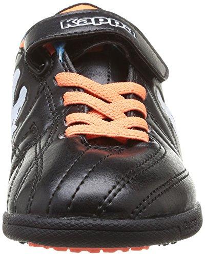 Kappa - Soccer Player Tg, Scarpe Outdoor Multisport da Bambini e ragazzi Nero (Noir (905 Black))