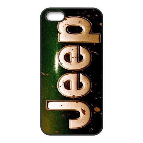 iPhone 5 / 5s / SE Phone Case Top Design Jeep Wrangler Logo JP299709