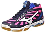 buy popular 28a23 668a7 Mizuno Wave Hurricane Mid Wos