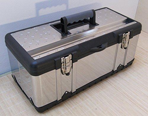 XL Werkzeugkasten Werkzeug Box Kiste Kasten EDELSTAHL Type 302XL von AS-S