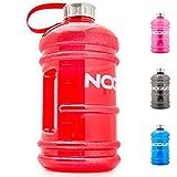 NOQUIT  Water Jug - 2.2 L Fitness Trinkflasche - XXL Sport-Wasserflasche - Fitness Bottle - BPA & DEHP frei - perfekt für Crossfit, Bodybuilding & Kampfsport