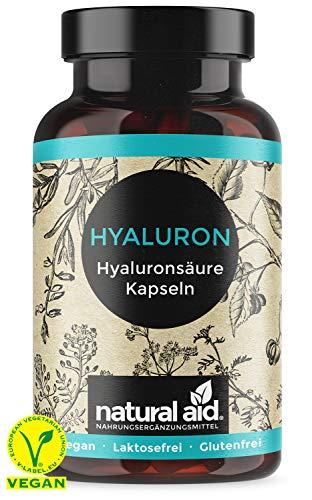 EINFÜHRUNGSANGEBOT - Hyaluronsäure Kapseln - Hochdosiert 500-700 kDa, 300mg je Tagesdosis, 90 Kapseln (3 Monats- Vorrat), vegan, glutenfrei, laktosefrei, hergestellt in Deutschland