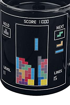 Tetris Heat Change Mug Mug