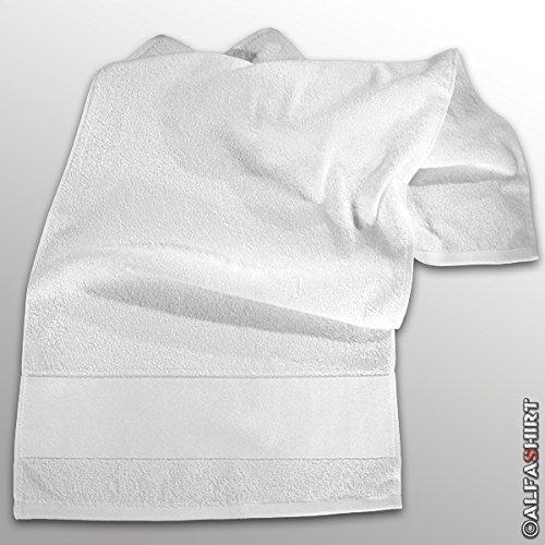 Preisvergleich Produktbild Handtuch Badetuch Duschtuch 100x50cm Sublimationsdruck Baden Schwimmen Tuch weiß #17418
