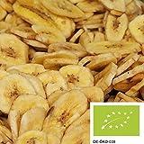 1kg Bio Bananenchips geröstet, leckere Trockenfrüchte mit Bio Rohrzucker gesüßt aus kbA