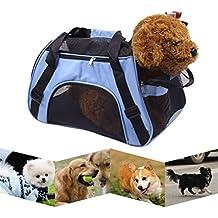 UEETEK Mochila Portador Para Mascotas Bolsa de Transporte Portable para Perros y Gatos Portable Cat Dog